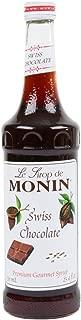 MONIN CHOCOLATE SWISS Chocolate, 750 ml bottle