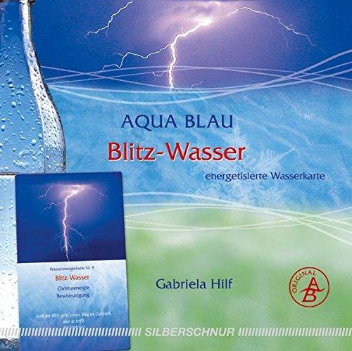Blitz-Wasser: Wasser-Energiekarte, Christusenergie/Beschleunigung, weiß