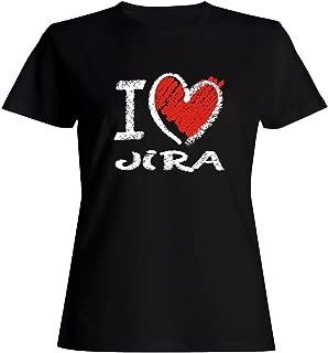 I Love JIRA Chalk Style - Female Names - Women T-Shirt