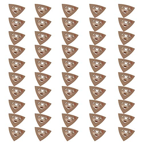 Great Features Of Triangle Carbide Rasp Saws Sign for Grinding Stone Multitool (50pcs)
