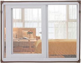 BBGS Magnetisch raamscherm, vliegenscherm glasvezelgaas, eenvoudige installatie voorkomt insecten/vliegen/muggen de kamer ...