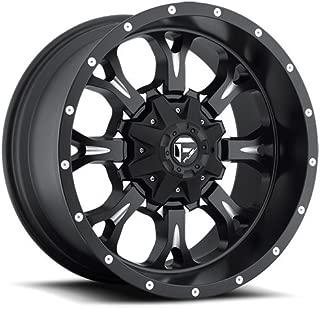 Fuel Offroad Wheels D517 17x9 Krank 8x6.5 NB4.50 -12 125.2 Black Milled