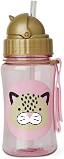 Skip Hop Straw Cup, Toddler Transition Sippy Cup, Leopard