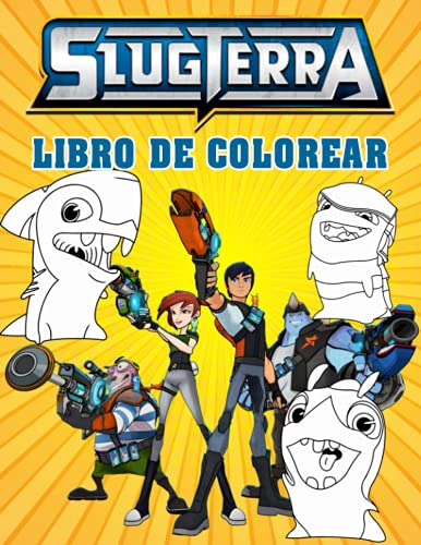 Slugterra Libro de Colorear: Páginas para colorear de excelente calidad para niños y adultos