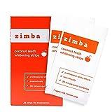 Zimba Teeth Whitening Strips - Professional-Grade Whitener, Formulated for...