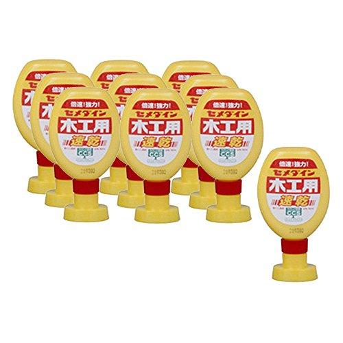 セメダイン 木工用速乾 接着剤 フック用袋入り 180ml CA-239 ×10本セット