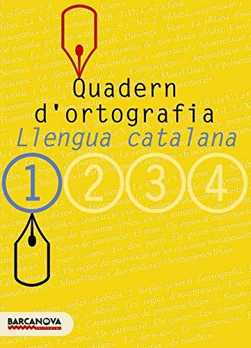 Quadern d'ortografia 1 (Materials Educatius - Eso - Llengua Catalana) - 9788448917104