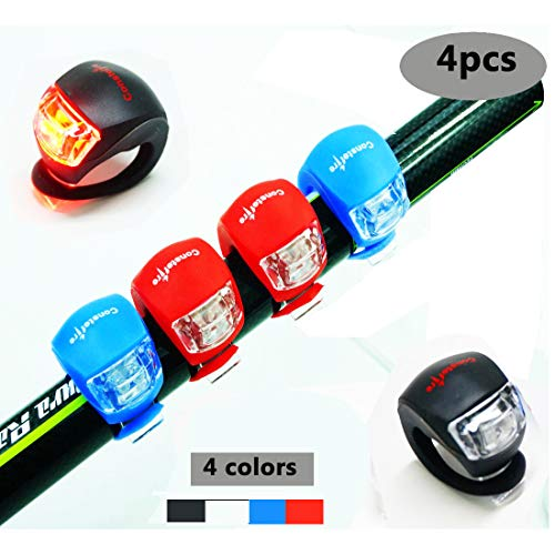 4 Piezas LED Clip-On Silicon Band Luces...