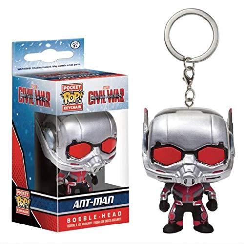 C&S Scott Lang/Ant-Man POP sleutelhanger Hero Verzamel- en decoratiefiguur - 4 CM