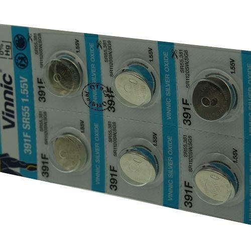 Otech Pack de 10 Piles Vinnic 4898338000740
