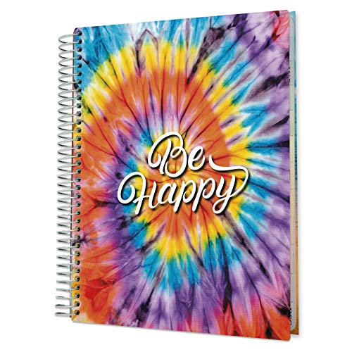 Tools4Wisdom 2021 Planner 2021 Calendar - 8.5 x 11 Hardcover - Dated December 2020 to Dec 2021 Daily Planner w/ Colorful Interior - Vertical Weekly Planner w/ Monthly Planner Tabs, Stickers - Q4SCO