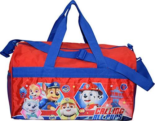 Red/Blue Paw Patrol Boys 18' Duffel Bag Standard