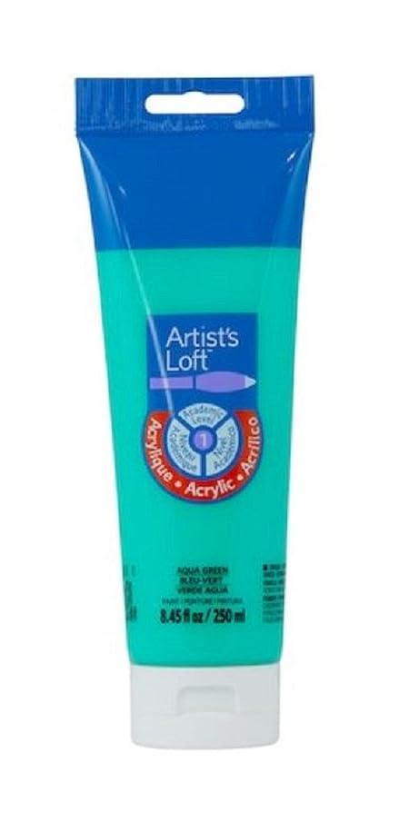 Acrylic Paint 8.45 Oz. Tube (Aqua Green)