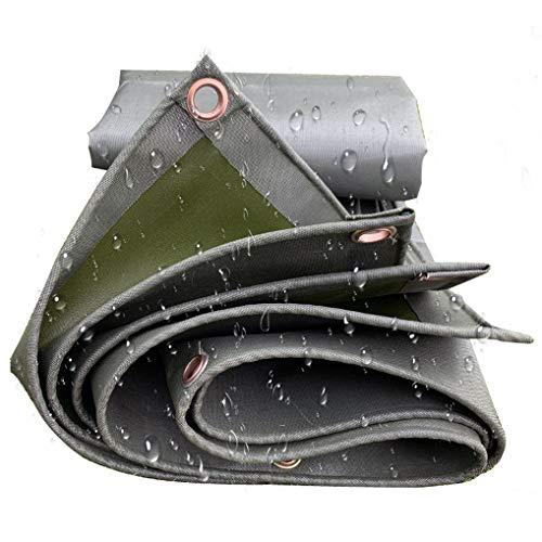 6,5 Fuß * 6,5 Fuß Grüne Leinwand Plane Hochleistungs wasserdichte Sonnenschirme Depot Outdoor-Anhänger, Brennholz, Plane Baldachin Zelt