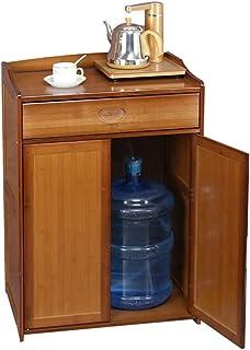 Hogar Aparador de Uso en el hogar de la Cocina de Muchas Capas de Bebida Gabinete Agua Bubble Tea Living aparador Estante ...