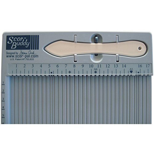 Scor-Pal Buddy Mini Scoring Board, 24 cm x 19 cm, metrisch