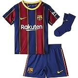 NIKE FC Barcelona Temporada 2020/21-FCB I NK BRT HMCD4607-456 Kit Completo Primera Equipación, Niño, Deep Royal Blue/Varsity Maize Full Sponsor,...