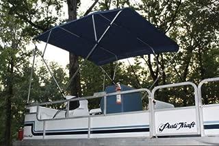 Vortex Navy Blue Pontoon/Deck Boat 4 Bow Bimini Top 8' Long, 97-103