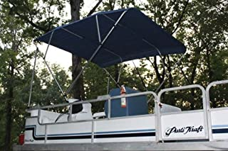 Vortex New Navy Blue Pontoon/Deck Boat 4 Bow Bimini Top 10' Long, 97-103 Wide, 54 High, Complete Kit, Frame, Canopy, and Hardware 1 to 4 Business Day DELIVERY