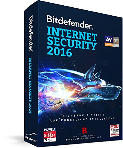 Bitdefender Internet Security 2016 3 PC / 2 Jahre (Lizenz)