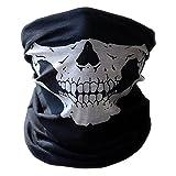 Multifunktionstuch | Schlauchtuch | Sturmmaske | Bandana | Totenkopf Halstuch Skelettmaske für...