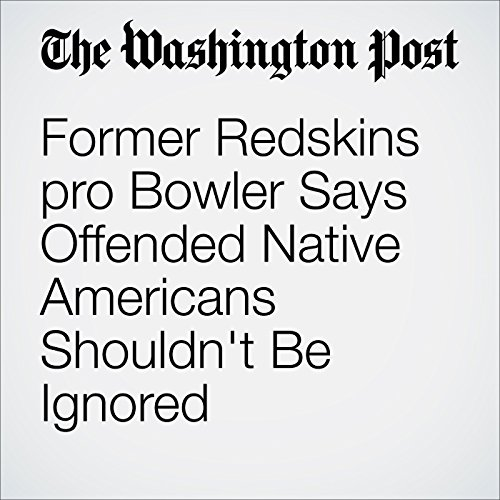 Former Redskins pro Bowler Says Offended Native Americans Shouldn't Be Ignored audiobook cover art