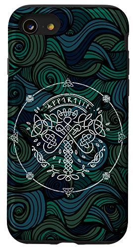 iPhone SE (2020) / 7 / 8 Yggdrasil Viking Norse Life Tree of Nordic Celtic Mythology Case