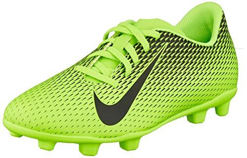 Nike JR Bravata II FG, Scarpe da Calcio Unisex Bambini, Verde (Electric Green/Black/Electric Green 303), 38.5 EU