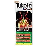 Tukol-D Infantil Jarabe, Tos Seca, Tos con Flemas, Antitusivo, 125 ml
