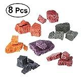 ULTNICE 8 Pcs Bougie Cire Dye de 8 Couleurs Colorant Chips pour DIY Faire des Bougies