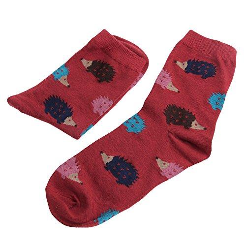 Wusuowei Nette Frauen Dame Mädchen Cartoon Socken Tier Mischung Strumpfwaren
