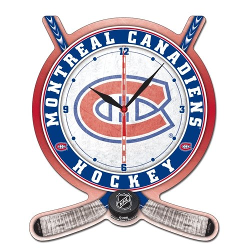 Wincraft NHL 2741011Montreal Canadiens High Definition Plaque Uhr