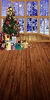GladsBuyクリスマスEve 10' x 20'デジタル印刷写真バックドロップクリスマステーマ背景yhb-300