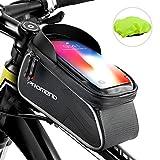 shenkey Sacoche de Cadre vélo, Sac de Cadre de vélo étanche écran Tactile...
