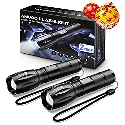 Flashlights, LED Tactical Flashlight S1000 – High Lumen, 5 Modes,...