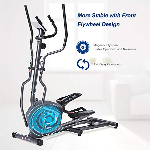 Best Review Of MaxKare Magnetic Elliptical Machine Elliptical Trainer Heavy Duty Smooth Quiet Driven...