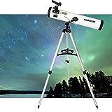 IW.HLMF Telescopio práctico Telescopio catadióptrico Brackettype Telescopio astronómico de 3 Pulgadas Telescopio newtoniano Telescopio Espacial astronómico Telescopio,