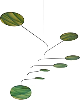 Green Canopy Modern Indoor Mobile, Horizontal Style, 22