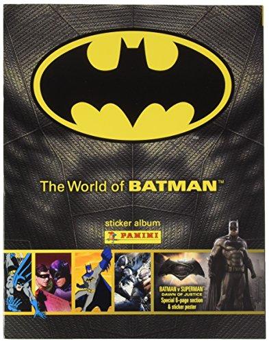 Panini dans Le Monde du Batman Autocollant Collection Starter Pack – Album et 31 Stickers