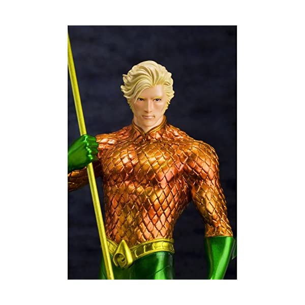 Kotobukiya DC Comics The New 52 Justice League Aquaman ARTFX Statue 4