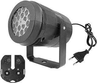 Minkissy Kerst Sneeuwvlok Projector Lichten Led Sneeuw Vallende Lichten Met Afstandsbediening Indoor Outdoor Waterdicht La...