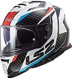 Casco de Moto LS2 FF800 Storm Racer Red Blue Negro/Blanco/Rojo/Azul, M
