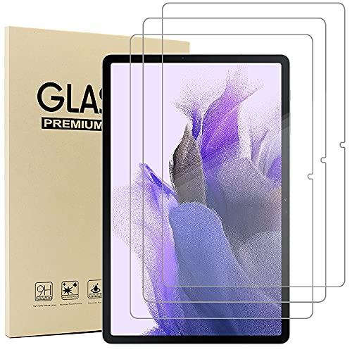 Acadeny(3 Paquete Cristal Templado Protector Pantalla para Samsung Galaxy Tab S7 FE...