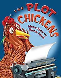 A screenshot of the cover of the book The Plot Chickens