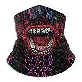 Yuanmeiju Bufanda The Art Design Of The Big Mouth Cuello Polaina Magic Headband Hood Unisex Ma sk Bandana Headwear