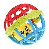 Housesweet Baby Kinder Spielzeug ab 3 Monaten Silikon biegsam Ball Greifball Handglocken Shake Rolling Ball