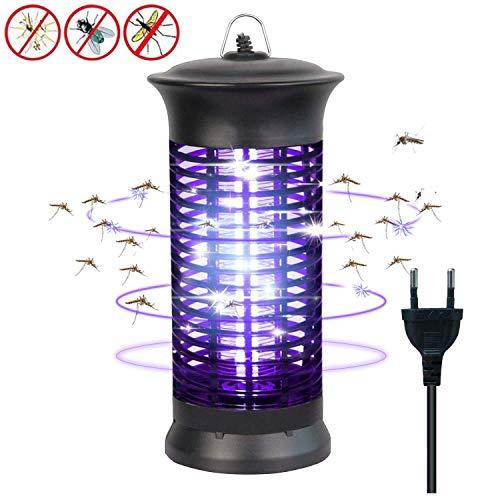 Dee Banna Insektenvernichter Elektrisch mit UV-Licht Elektronischer Mückenschutz Gegen Mücken, Fliegen, Moskitos Insektenabwehr für