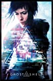 1art1 Ghost In The Shell Poster und Kunststoff-Rahmen -