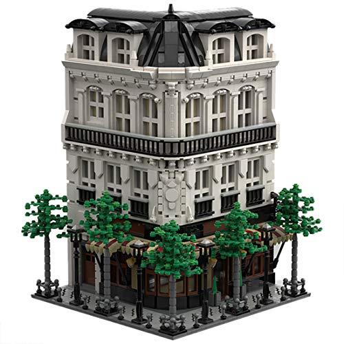 PEXL Haus Bausteine Bausatz, Pariser Bäckerei Modular Architektur Modell, 4200 Klemmbausteine Kompatibel mit Lego