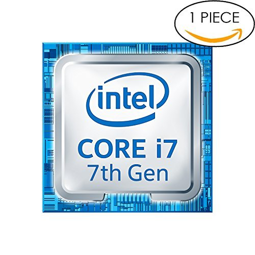 Original 7th Gen. Intel Core i7 Inside Sticker 18mm x 18mm with Authentic Hologram